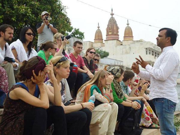 Hindi Students at Pushkar