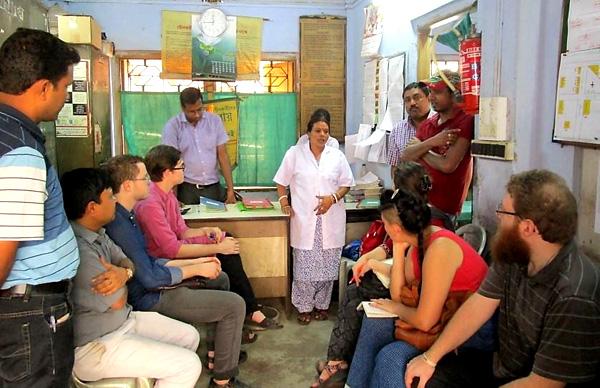 Bangla students with community health service provider